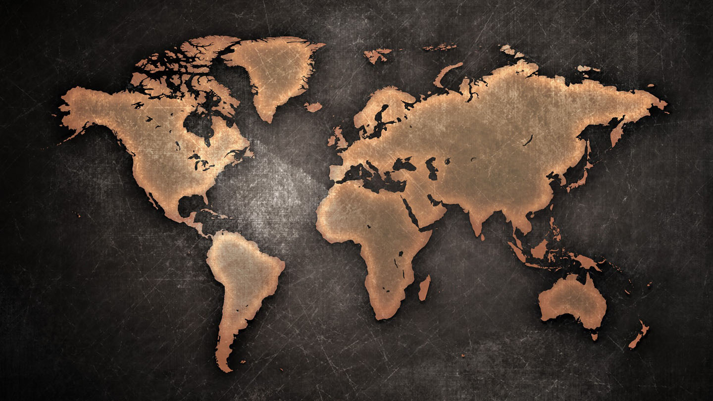 World Map Old Style.World Map Old Style Into The Strange