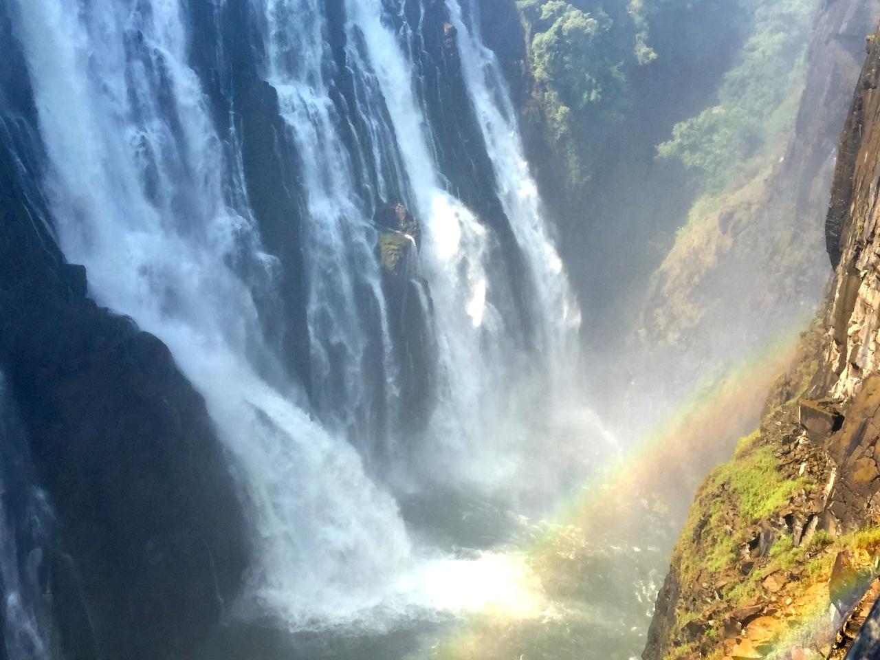 Mosi-oa-tunya…..or Vic Falls