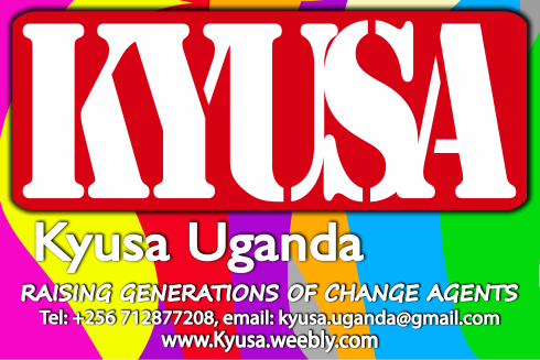 Kyusa…..raising generations of change agents