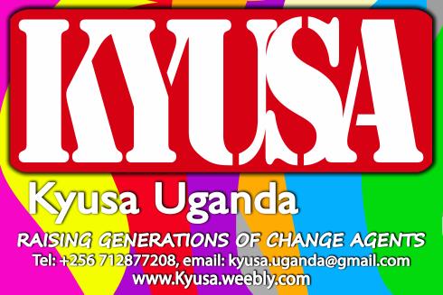 Kyusa…..raising generations of changeagents