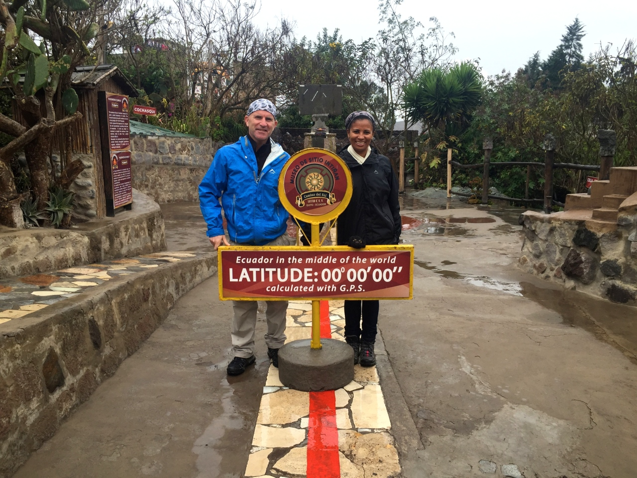 Lost at La Mitad delMundo