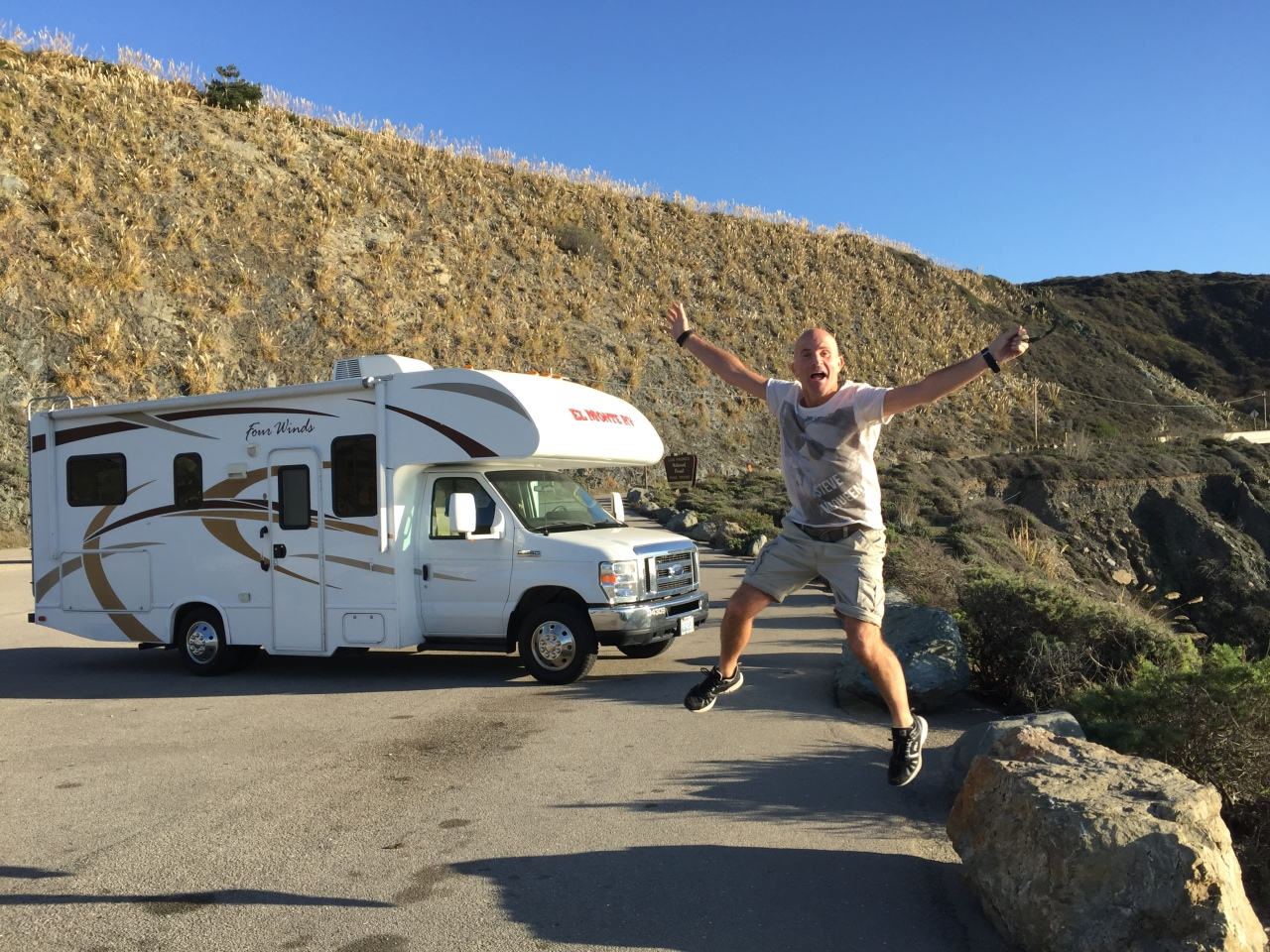 It's a driving good time along the California Highway1
