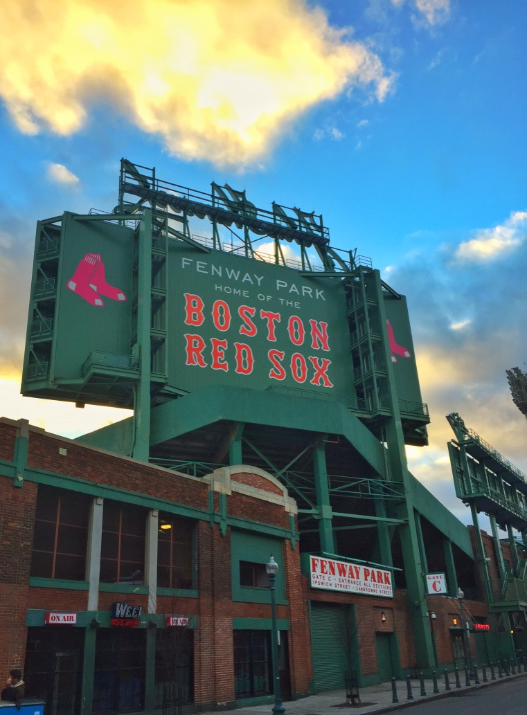 Home of the world's greatest baseball team, Fenway Park